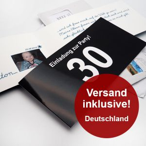 invitation greeting card (germany)